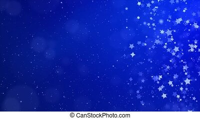 Abstract Glitter Dust Sparkling magical dust particles Texture loop background.