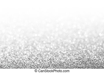 Abstract glitter silver background. Holiday shiny texture