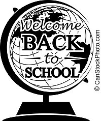 Globe Back to School - Abstract Globe Back to School (Used...