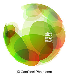 Abstract globe Vector illustration.