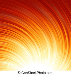 Abstract glow Twist with golden flow. EPS 8 - Abstract glow...