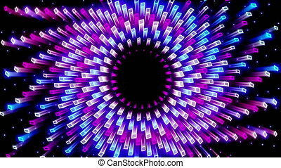 Glowing Abstract Background Looped Video