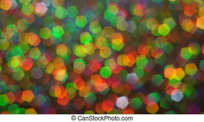 Abstract glowing lights background. Macro. Luminosity hologram glitter sparkles