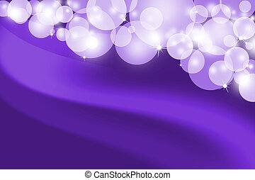 Abstract glowing purple background