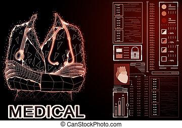 Medicine and science concept