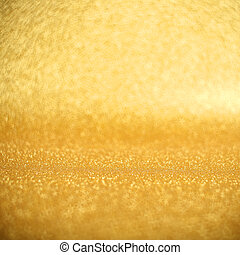 Abstract gold glitter holiday background with copy space