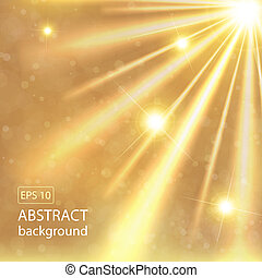 abstract gold background. Vector illustration