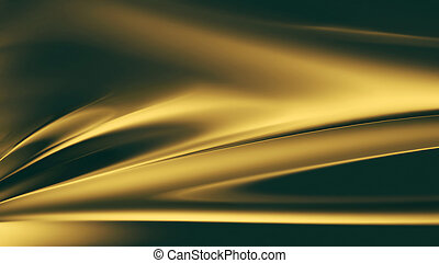 abstract gold background with smooth lines