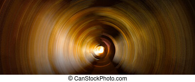 abstract gold circle background