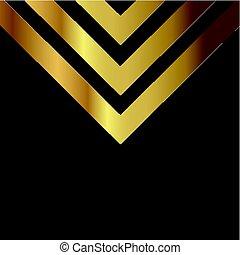 abstract gold design on blackboard texture 0404