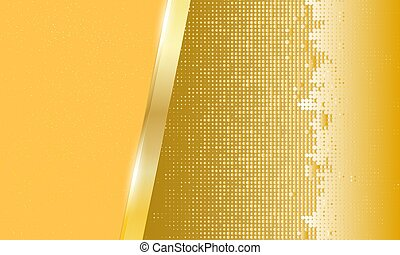 Abstract gold metal background.Vector