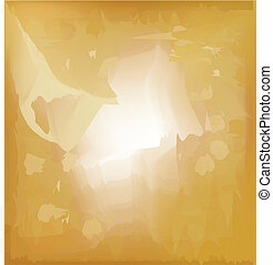 Abstract gold paper background