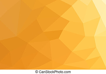 Abstract gold polygon background on texture.