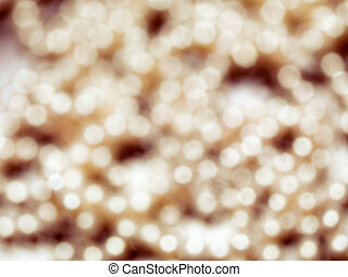 Abstract gold shiny blurred background