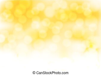 abstract golden background with blurry lights effects. vector illustration