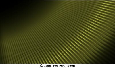 abstract golden fiber optic