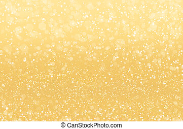 Abstract golden holidays lights on background