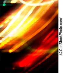 abstract golden neon light background