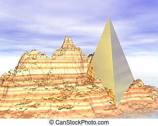 Abstract: Golden Pyramid