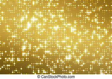 abstract golden reflectors dot glitter and sparkles seamless...