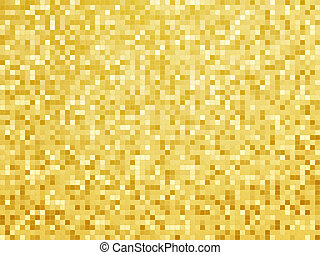abstract golden tile pattern