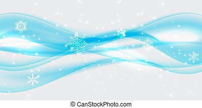 Abstract Golden Wave on Transparent Background. Vector Illustration