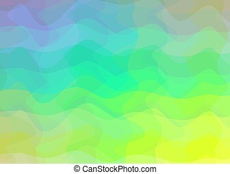 Abstract gradient background in bright rainbow colors