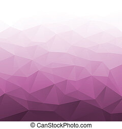 Abstract Gradient Pink Geometric Background. Vector Illustration