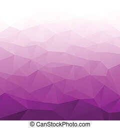 Abstract Gradient Purple Geometric Background. Vector...