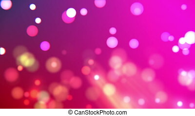 Abstract gradient with highlights and bokeh particles...