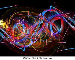 abstract, graffiti, kleurrijke