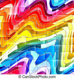 abstract grafitti background - wall with colorful abstract...
