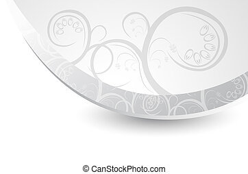Abstract gray background with a pattern