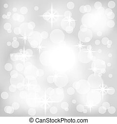 Abstract gray background with lights