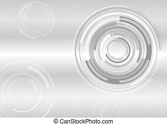 Abstract gray background with technology communication concept