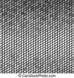 Abstract Gray mosaic Tiles. Vector Background