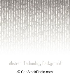 Abstract Gray Technology Lines Background, vector...