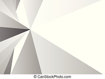 Abstract gray triangle background