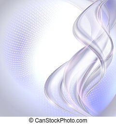 Abstract gray waving background