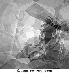 Abstract grayscale background