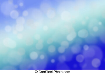 Abstract green and blue background close-up