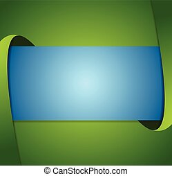 Abstract green and blue corporate background