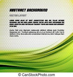 Abstract Green Background - Abstract green background with...