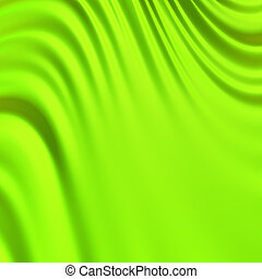 Abstract green background. Clean, detailed render. Series.