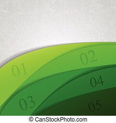 Abstract Green Background For Design