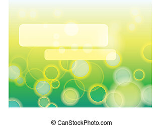 Abstract green background in EPS-10