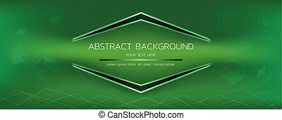 abstract green background vector graphic
