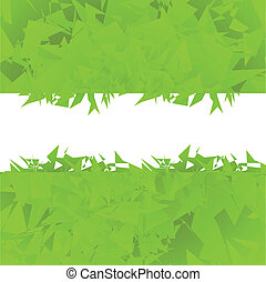 Abstract green background vector with place for text