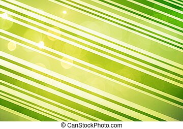 Abstract green background with lens flares