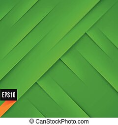 Abstract green background with lights and shadows